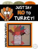 Just Say NO to Turkey! {Common Core Writing Craftivity}