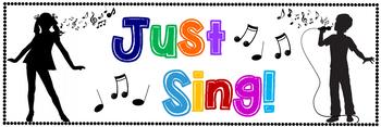 Just Sing Banner