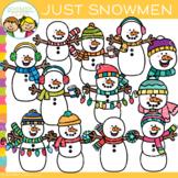 Just Snowmen Clip Art