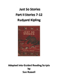 Just So Stories Part II Readers Theater scripts