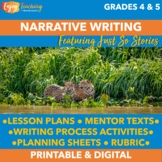Narrative Writing - Using Just So Stories as Mentor Texts for Pourquoi Tales