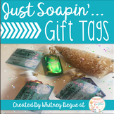 Just Soapin' You Have A Merry Christmas Gift Tags