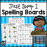Just Swap 1 Short Vowel Game Boards