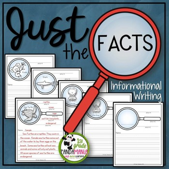 Just The Facts~Informational Writing