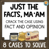 Fact and Opinion Text Detective Activities Reading Comprehension Literacy Center