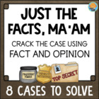 Fact and Opinion Literacy Center Activites