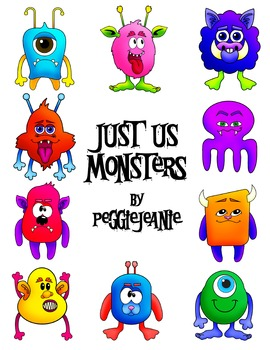 Just Us Monsters by peggiejeanie