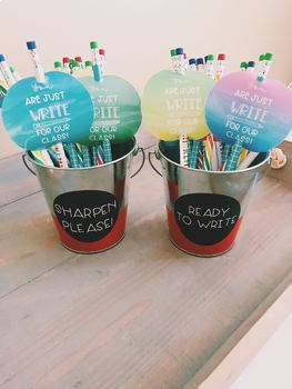 Just WRITE Pencil Toppers