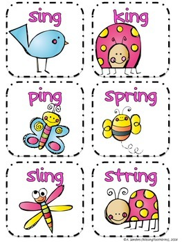 Just Wing It! {Activies to Practice the -ing Word Family}