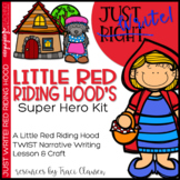 Writing - Narrative - Little Red Riding Hood's Super Hero Kit