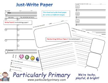 Just-Write Paper
