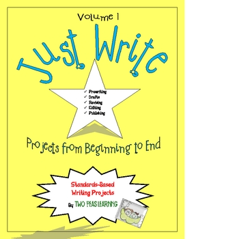Just Write Projects and Activities from Beginning to End