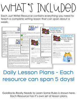 Writing - Fairy Tales - Just Write! The Bundle