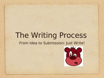Just Write!: The Writing Process in a Nutshell
