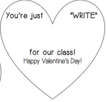 Just Write Valentine
