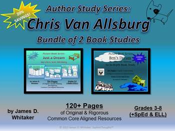 Just a Dream & Ben's Dream Chris Van Allsburg Book Study Bundle