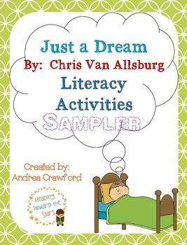 Just a Dream Literacy Unit Freebie Sampler