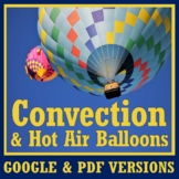 Hot Air Balloon Density & Convection Reading Activity w/ Q