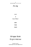 Just a Love Story! English-Hebrew Bilingual book