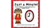 Just a Minute! Addition and Subtraction Daily Timed Tests