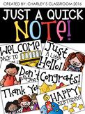 Just a Quick Note   Melonheadz
