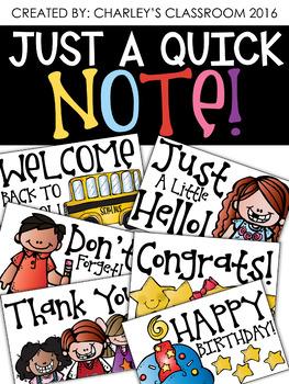 Just a Quick Note | Melonheadz