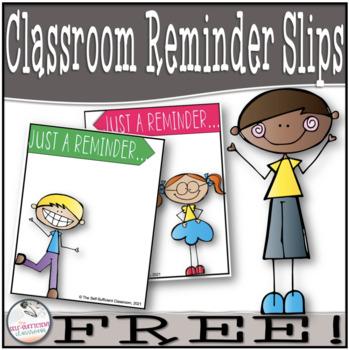 Just a Reminder- FREE Printables...EDITABLE!