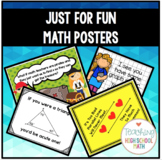 Just for Fun Math Posters Bundle
