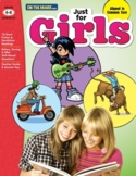 Just for Girls Grades 6-8 Reading Comprehension: Aligned to Common Core