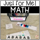 Just for Me! MATH