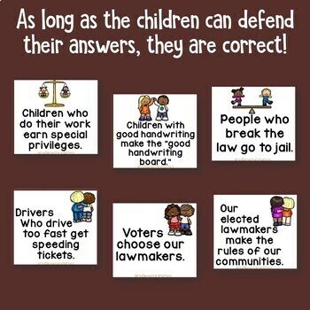 Dr. King: Just or Unjust - a Civics Sorting Activity
