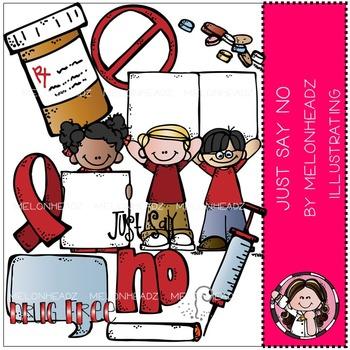 Just say no clip art- drug awareness - by Melonheadz