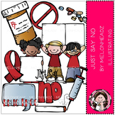 Just say no clip art - Drug awareness - COMBO PACK- by Melonheadz