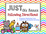 Just the Basics: Following Directions