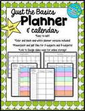 Just the Basics: Super Simple Planner
