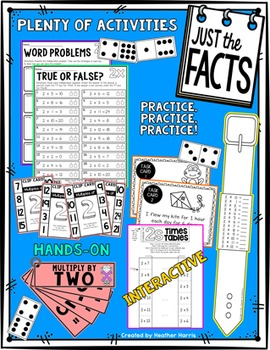 Just the Facts- 2s Multiplication Tables