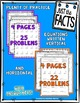 Just the Facts- 6s Multiplication Tables