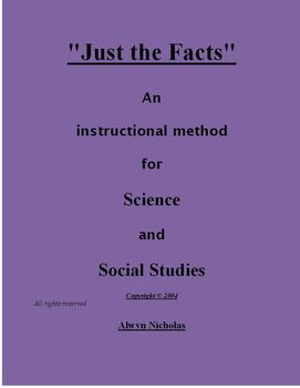 Just the Facts: An Instructional Method for Science and Social Studies
