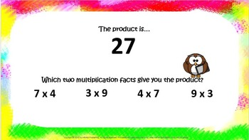Just the Facts Multiplication Practice 2's-10's, 3.OA.B5, 3.OA.C7