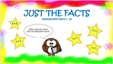 Just the Facts PPT Multiplication Practice 2's-10's
