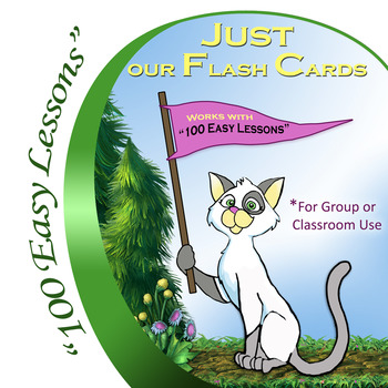 """Just our Flash Cards For Using """"100 Easy Lessons"""" in a Group Setting"""