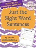 Just the Sentence Scramble - Trick Word Pack