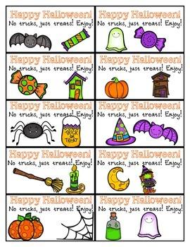 No Tricks, Just Treats! Halloween Tags