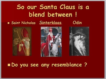Just who is Santa Claus ?