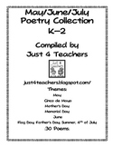 Just4Teachers:May/Jun/JulyPoetryCollection