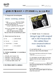 Justin Bieber: Friends Gap Fill in the Blanks Listening Worksheet with Idioms