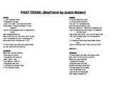 Justin Bieber parody for preterite vs. imperfect