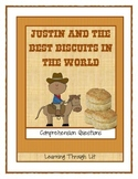 JUSTIN AND THE BEST BISCUITS IN THE WORLD Comprehension DI
