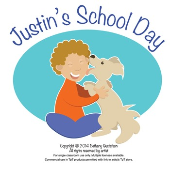 Justin's School Day Clipart Collection
