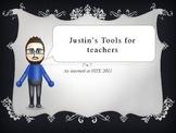 Justin's Web Tools for Teachers
